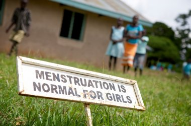 Menstruation is normal for girls