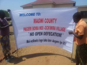 ODF sign in Magwi County, South Sudan