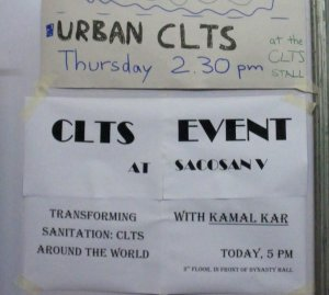 CLTS events at SACOSAN V