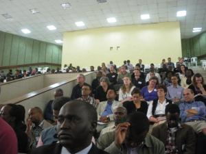 Participants at the WEDC Conference in Nakuru