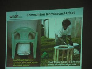 Poster: Community innovation and adaptation of latrines