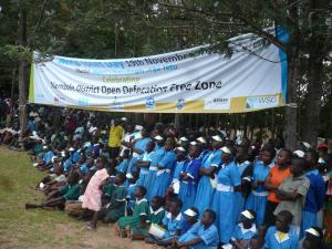 ODF celebrations in Nambale Kenya on World Toilet Day 2012