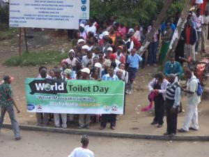 World Toilet Day procession in Nairobi