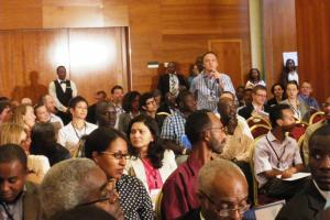 Participants at one of the sessions of the IRC symposium in Addis Ababa