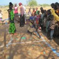Mapping during a CLTS training in Turkana