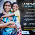 World Toilet Day and Sanitation for all Resolution